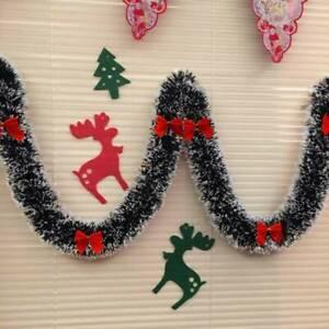 2019-XMAS-Party-Hanging-Decors-Christmas-Tree-Garland-Ribbon-Ornaments-DIY-2M