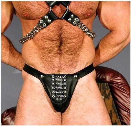 Neue Lederslip,leder Jockstrap-Gay unterhose,Leder Harness,Shorts,Leather thong