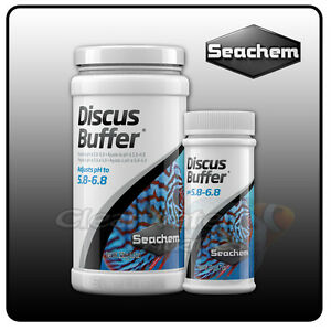 seachem discus buffer low ph gh aquarium water softener