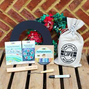 Rag Rug Wreath Kit Ragged Life