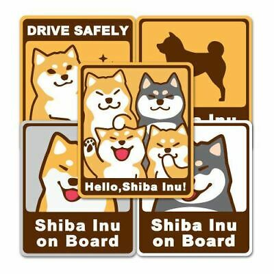 Lucky Akita Shiba Dog Puppy DIY Graphics Decals Stickers Decor For Home Offices
