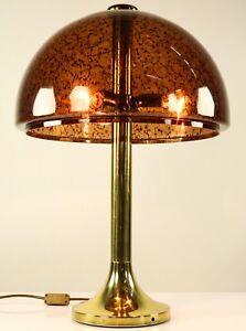 Vieja-mesa-lampara-de-pie-lampara-de-lectura-de-laton-vintage-Brass-lamp-80er-anos