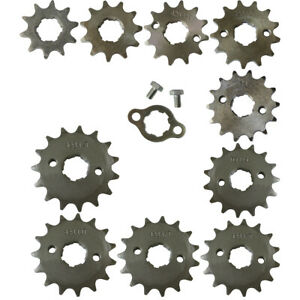 17mm-20mm-10-18T-Sprocket-For-110cc-125cc-150cc-ATV-Pit-Dirt-Quad-Bike-428-Chain