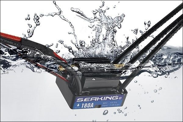 Hobbywing Seaking 180A V3 Brushless ESC - HWI30302400