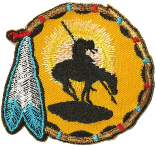 Ecusson patche Sioux Indien country western thermocollant patch