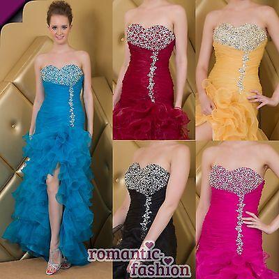 ♥NEU Größe 34 bis 46 in 5 Farben Luxus Ballkleid, Abendkleid Brautkleid♥