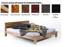 Modern wooden Double bed ( For Indian King mattress size )