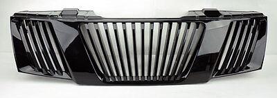 Black Vertical Front Bumper Hood Grill FITS Nissan Frontier Navara Pathfinder