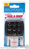 Broadway Nails Deluxe Nail & Body Jewel Art Kit 144 Stones 00562