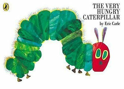 The Very Hungry Caterpillar Book Eric Carle Children Picture Character Butterfly