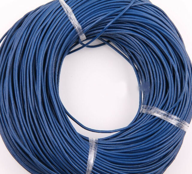 3 M Flat Ribbon Real Leather High Quality Finding Cord String Rope 1.5/2 mm