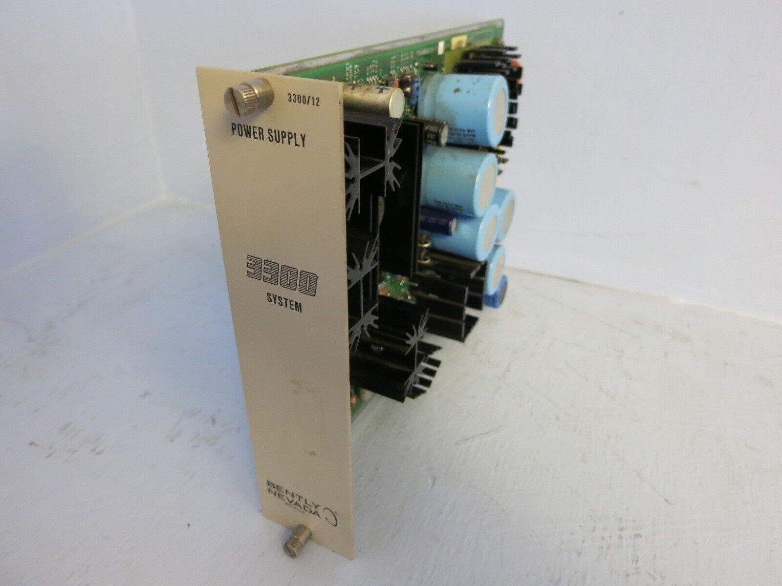 Bently Nevada Power Supply 3300 12-01-20-00 PLC PWA88219-01 78591-01A Bentley