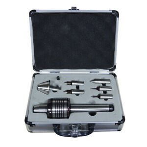 5MT Morse Taper Medium Duty Interchangeable Point CNC Live Center Set
