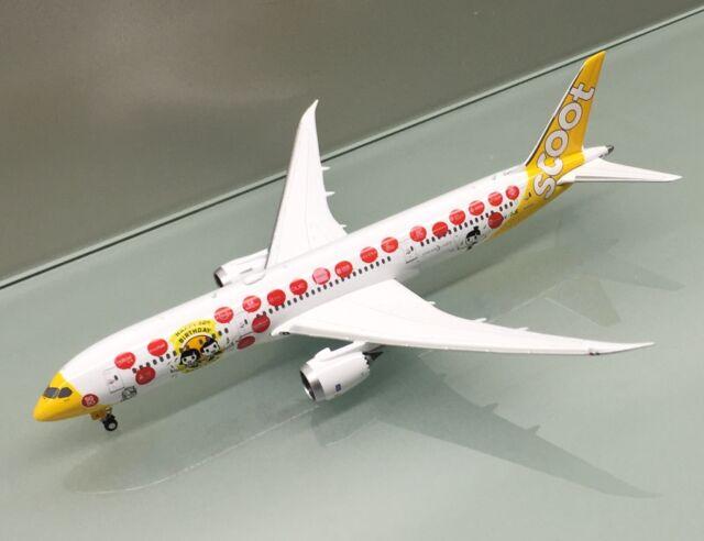Phoenix 1/400 Scoot Airlines Boeing 787-9 9V-OJE Happy Birthday die cast model