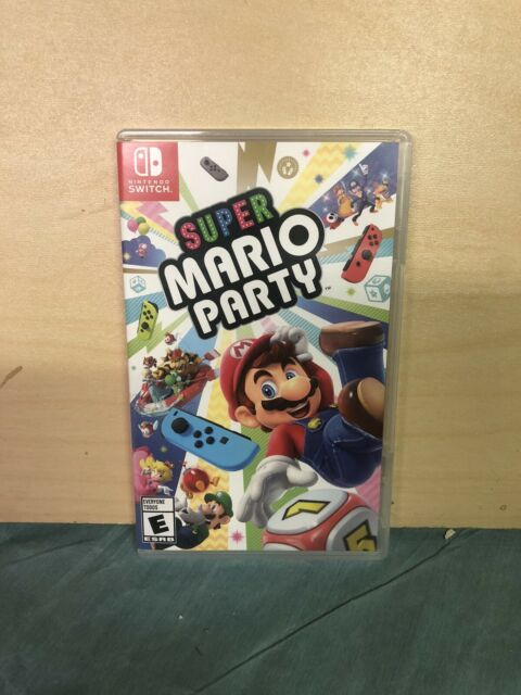 Super Mario Party Standard Edition - Nintendo Switch Brand New Other Read