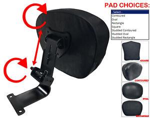 Honda VTX1300 VTX1800 C N Fully Adjustable Drivers Backrest