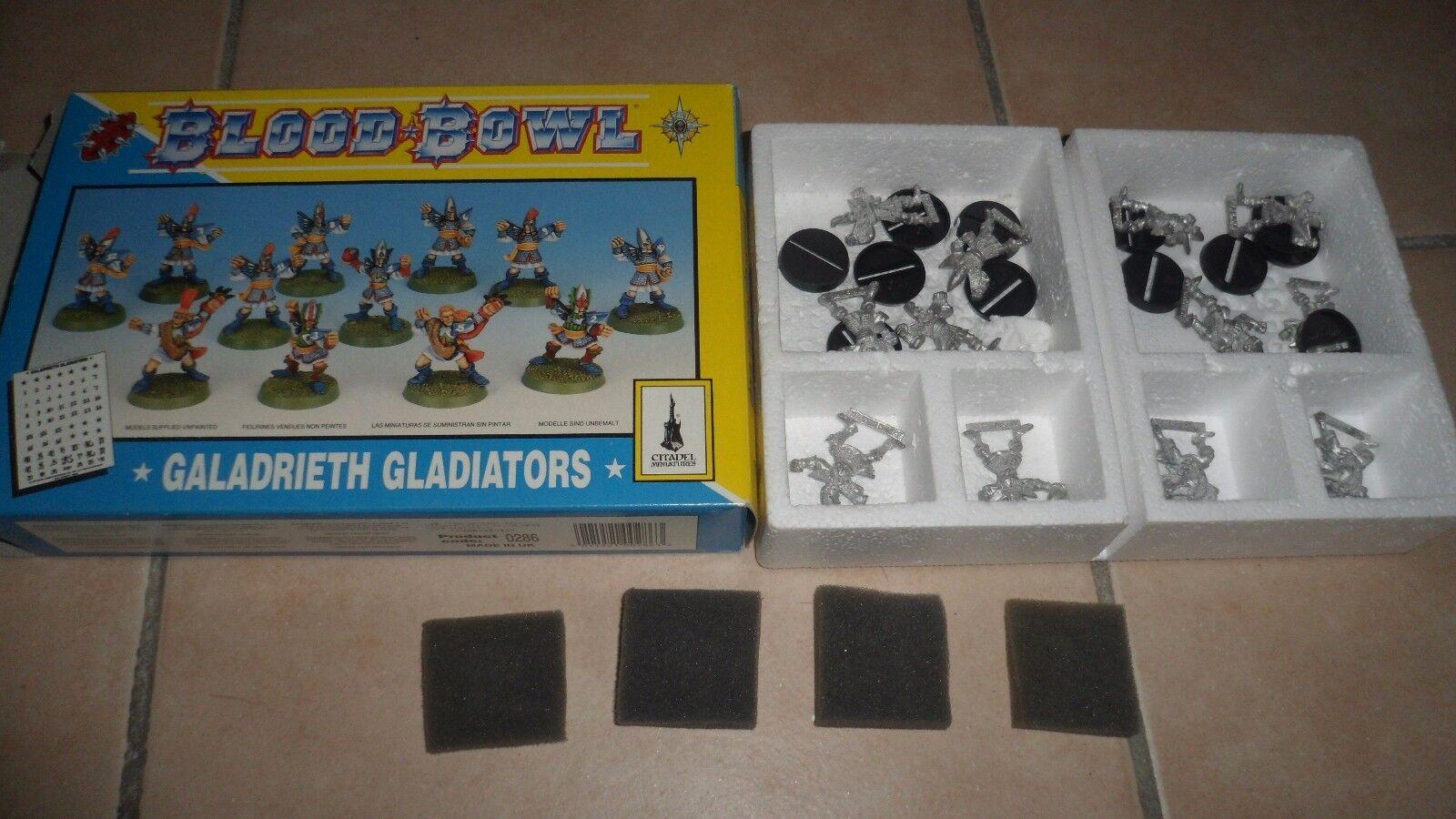 Games Workshop - BLOOD BOWL - Galadrieth Gladiators - citadel miniatures BE