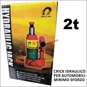 CRICK-CRIC-IDRAULICO-2-TONNELLATE-BOTTIGLIA-MARTINETTO-PER-AUTOMOBILI-AUTO