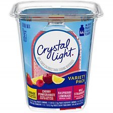 Crystal Light Variety Pack Drink Mix 44 On The Go Packets