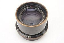 ":Goerz APO Apochromat Red Dot Artar 19"" 480mm F11 Large Format Brass Lens"