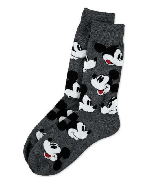 153a3ce09c5c Disney Mickey Mouse Dress Socks Men s Shoe Size 6-12 Crew Gift Casual