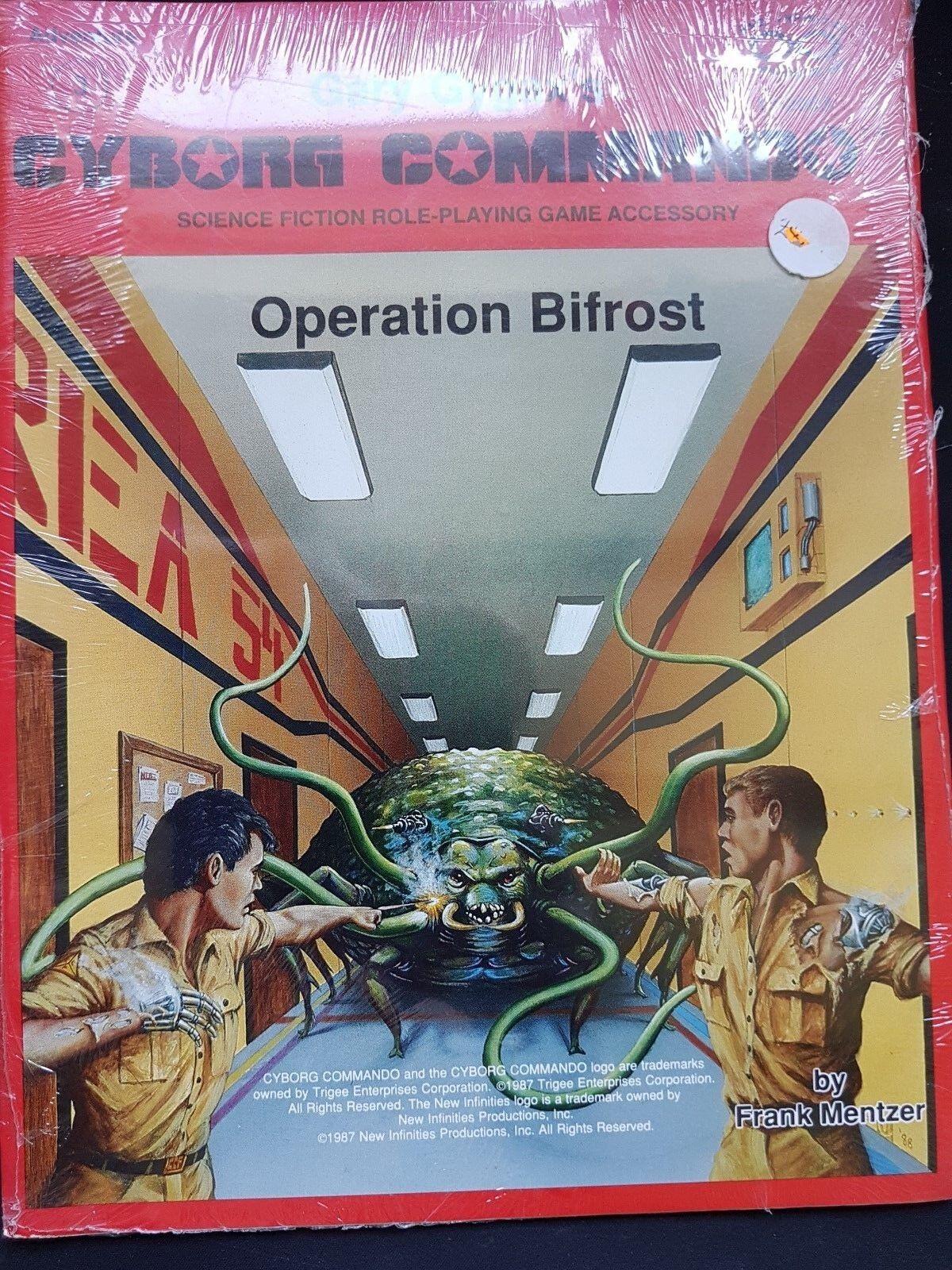 OPERATION BIFROST - GARY GYGAXS CYBORG COMMANDO RPG - ADVENTURE 3 - SEALED