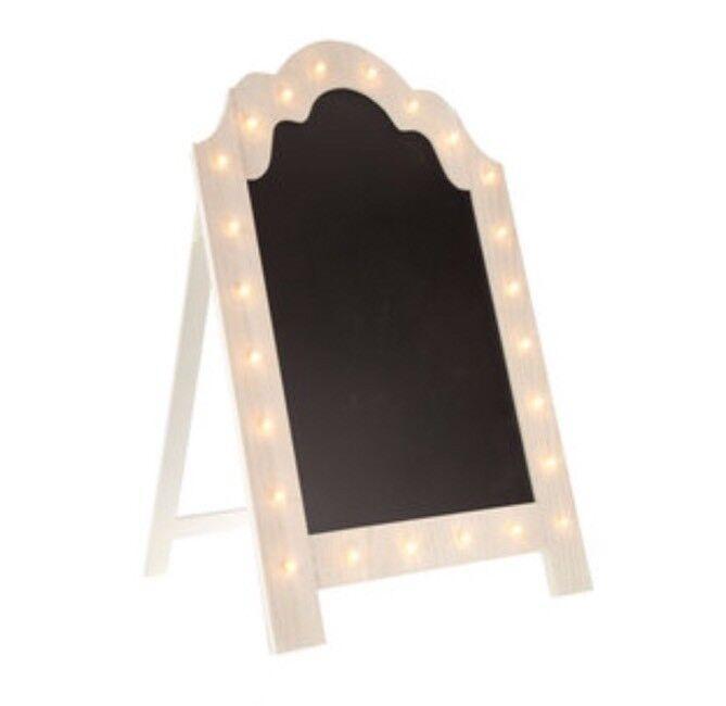Weiß Marquee Framed Standing Chalkboard Wedding Venue Decor Restaurant Retail