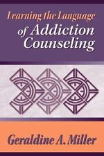 Learning the Language of Addiction Counseling-ExLibrary