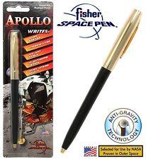 Fisher Space Pen #S251G-Black / Apollo Series Pen in Black & Gold