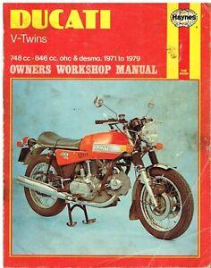 DUCATI-750-V-TWIN-750-GT-SPORT-SS-860-GT-GTS-900-SS-GTS-1969-1979-REPAIR-MANUAL
