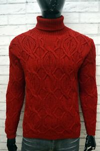 LAUREN-RALPH-LAUREN-Uomo-Taglia-XL-Maglione-Lana-Pullover-Cardigan-Sweater-Man