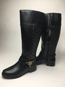 6b745508f7e Women s Liz Claiborne Trina Quilted Riding Boots •6W Wide Calf  NWT ...