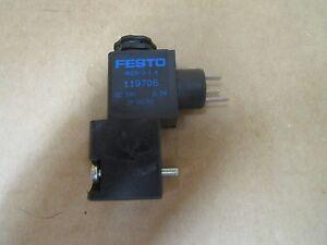 FESTO Solenoid Valve MNDH-3-1.4 DC 24V MNDH31.4 NEW