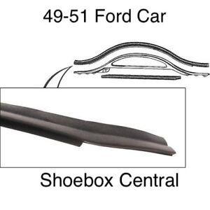 1949 1950 1951 Ford Shoebox Radiator Deflector To Hood Seal Ebay