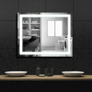 36 Led Bathroom Makeup Vanity Mirror With Light Bulb Kit Wall Mount Anti Fog Ebay