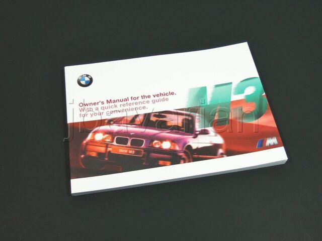 bmw e36 m3 coupe convertible owners handbook 01419790397 leather rh ebay com bmw m3 e92 owner's manual bmw m3 owners manual 2013