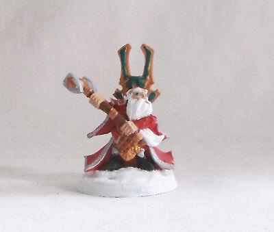 Reaper Miniatures Bones Herryk Dwarf Cleric
