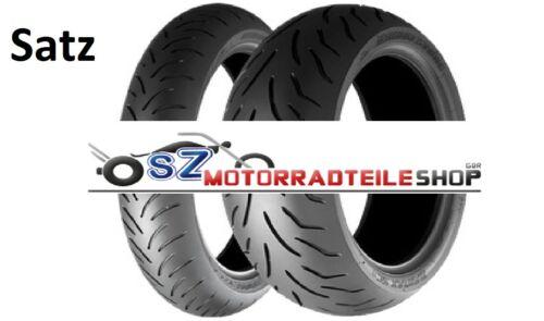 Hinten SATZ passend f Kawasaki ZXR 400 ZX400L Bridgestone Reifen Vorne