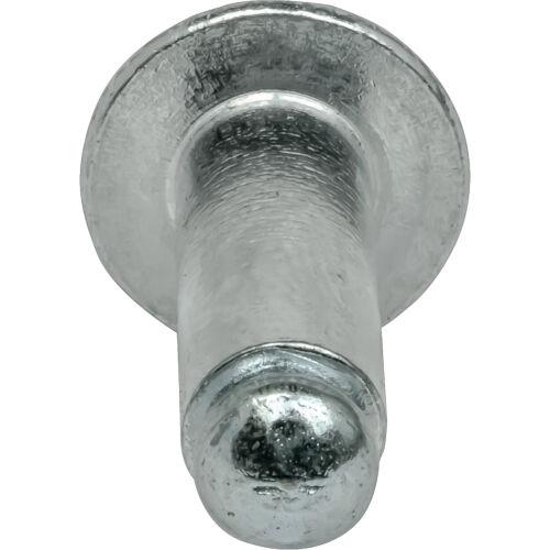 "Pop Rivets 1//8/"" x 3//8/"" Aluminum Body Steel Mandrel Dome Head Blind Qty 100"