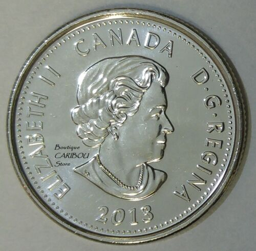 2013 Canada Salaberry Frosted 25 Cents BU