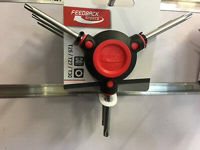 Feedback Sports 3-Way Fixed T25//27//30-TORX