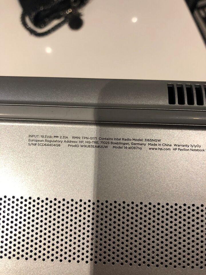HP Pavillon , 4 GB GB ram, 128 GB GB harddisk