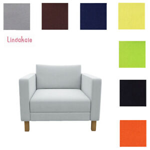 Custom-Made-Cover-Fits-IKEA-Karlstad-Chair-Replace-Armchair-Cover