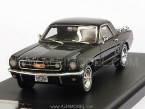 Ford Mustang Mustero 1966 Noir 1:43 Premium X Pr0466r
