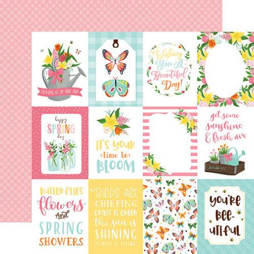 """Nuevo Echo Park Kit de colección de papel de 12/"""" X 12/"""" me encanta Primavera"""