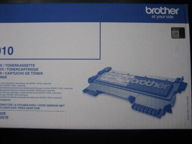 Brother Toner TN-2010 New Original DCP-7055 HL-2130 Boxed Dhl-Paket