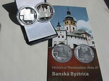 SLOWAKEI 2016 20 EURO SILBER PP PROOF - BANSKA BYSTRICA - Auflage 5400 !!