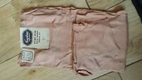 Rare Vintage Keystone Hosiery Pure Silk Dull Mode Style Stockings Size 9'1/2