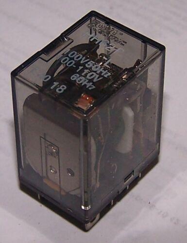 50//60Hz Used HH62P-L,100 VAC Warranty Fuji Electric Cube Relay