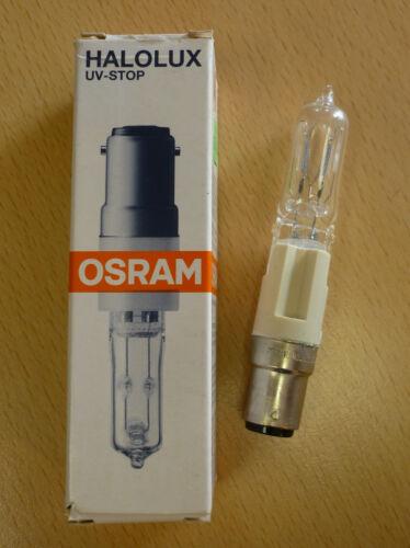 Osram HALOLUX CERAM Lampe Halogène b15d 250w clair 64479 KL rarement NOUVEAU /& OVP!